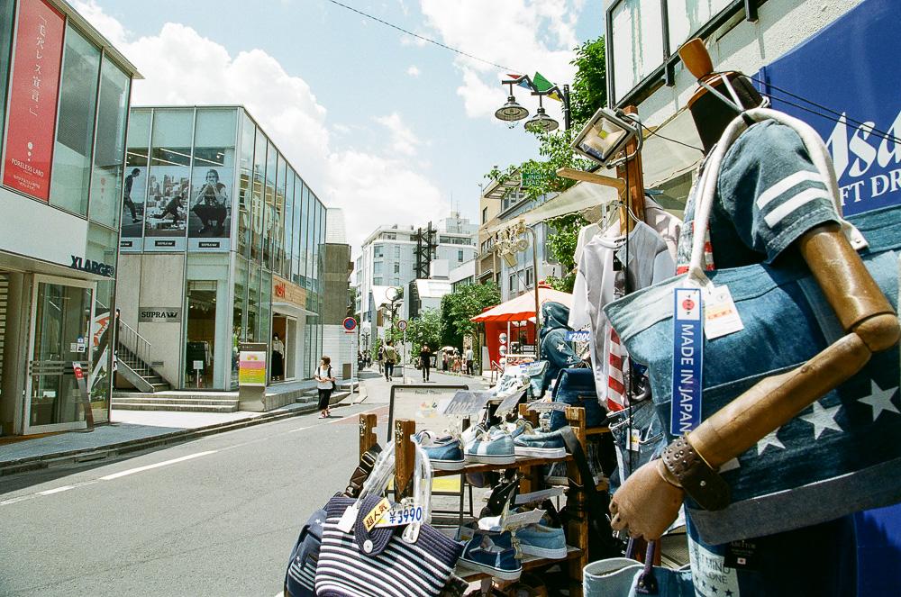 原宿ファッションエリアフィルム3