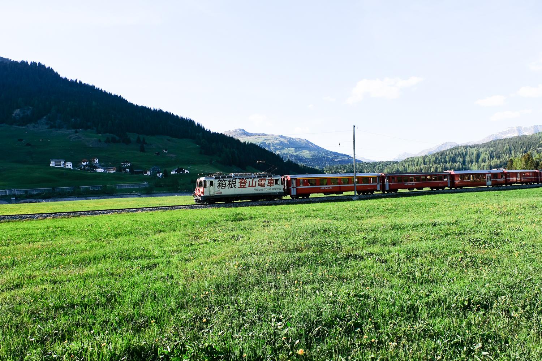 スイス・レーティッシュ鉄道2