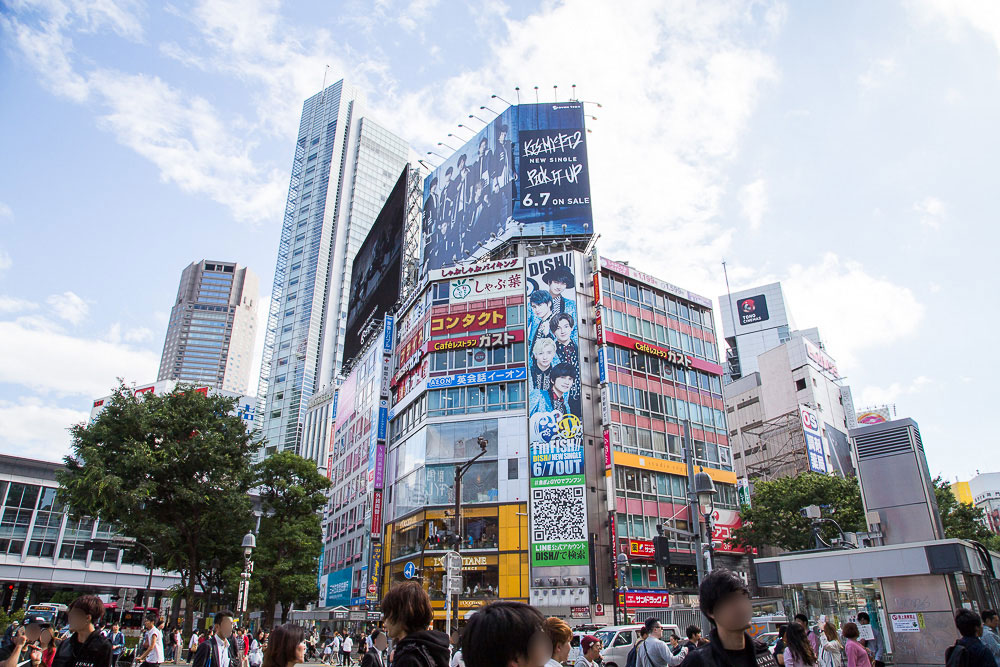デジタル 渋谷交差点