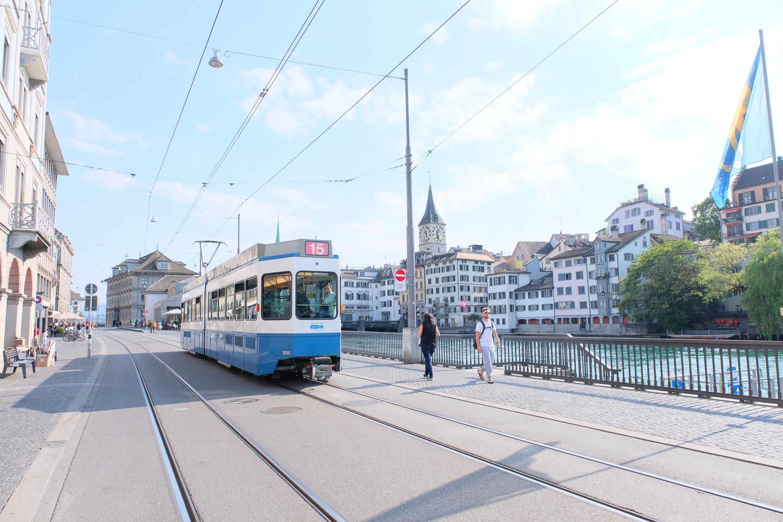 チューリッヒの市街電車・トラム