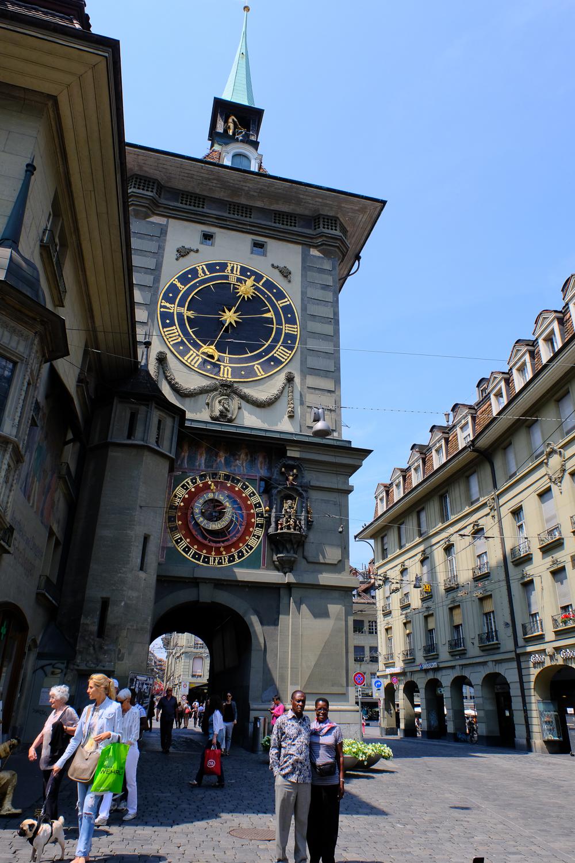 ベルン旧市街 美しい時計台 X-Pro2+XF16-55mmF2.8 R LM WR