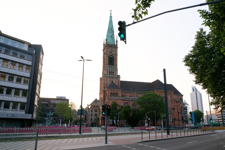 ドイツ デュッセルドルフ 教会1