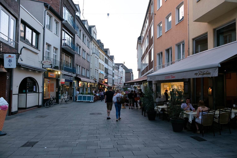 ドイツ デュッセルドルフ 街並み