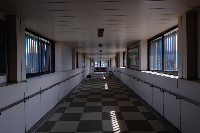 飛騨古川駅通路 X-Pro2+XF16-55mmF2.8 R LM WR、ISO400、1/160秒、F8 Photoshop Lightroomで現像