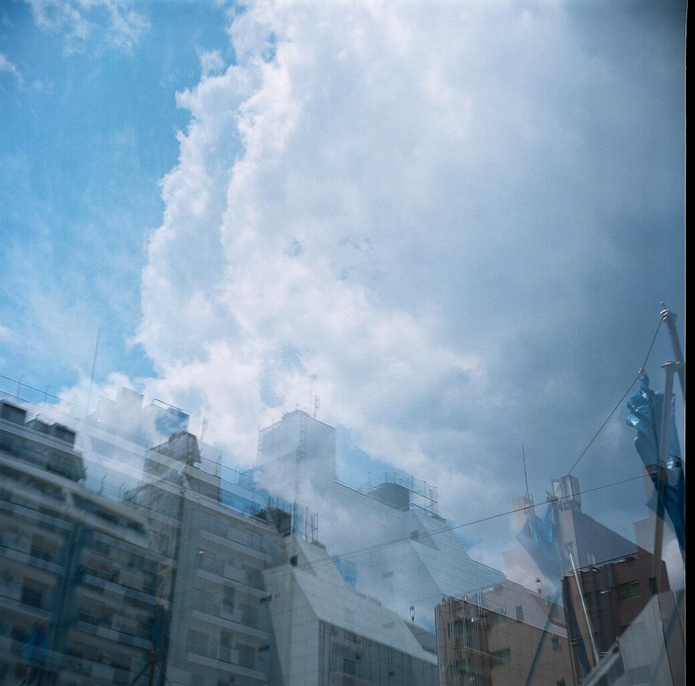 LOMO LUBITEL 166B 渋谷 二重露光