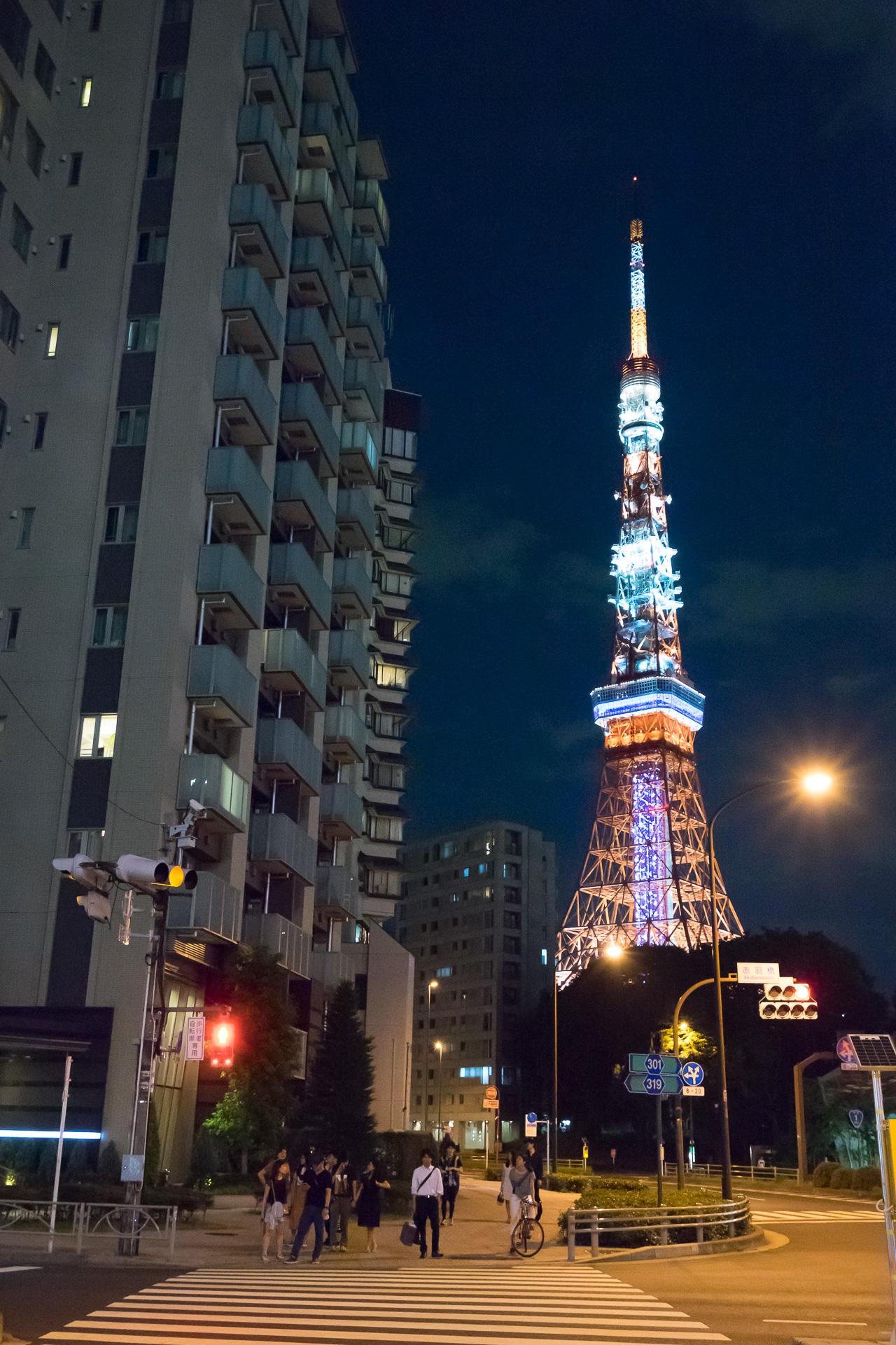 東京タワー SONY α7II, SONY Vario Tessar T* FE 16-35mm F4 ZA OSS