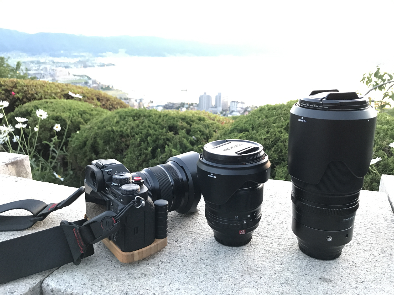 富士フイルムのミラーレスで使える大三元レンズ XF16-55mmF2.8 R LM WR、広角ズームレンズXF10-24mmF4 R OIS、望遠ズームレンズXF50-140mmF2.8 R LM OIS WR