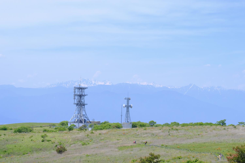 高ボッチ山頂 (X-T2+XF50-140mmF2.8 R LM OIS WR、ISO400、1/250秒、F11 Photoshop Lightroomで現像)