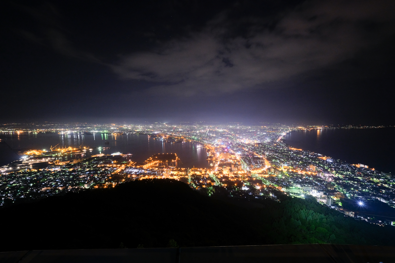 函館 夜景 XF10-24mmF4 R OIS