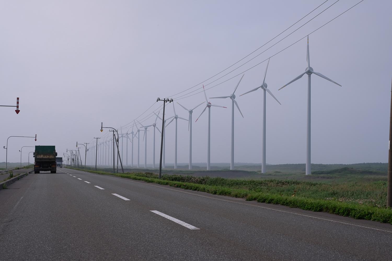 オロロンライン 天塩-稚内区間 オトンルイ風力発電所 X-Pro2+XF16-55mmF2.8 R LM WR