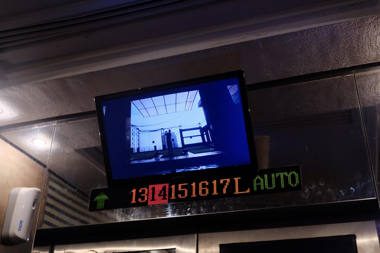 バイヨーク・タワーII エレベーター XF16-55mmF2.8 R LM WR