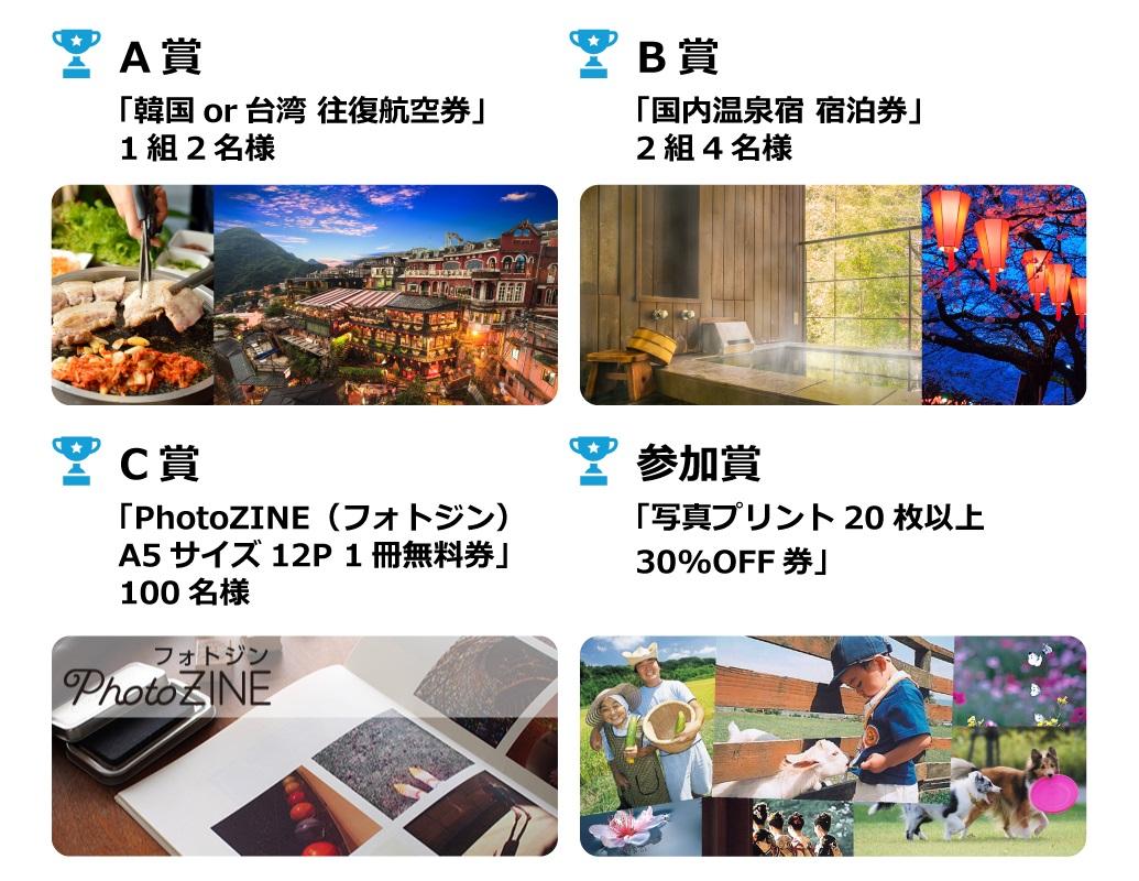 カメラのキタムラ×DeNAトラベル 旅フォトコンテスト2017 プレゼント