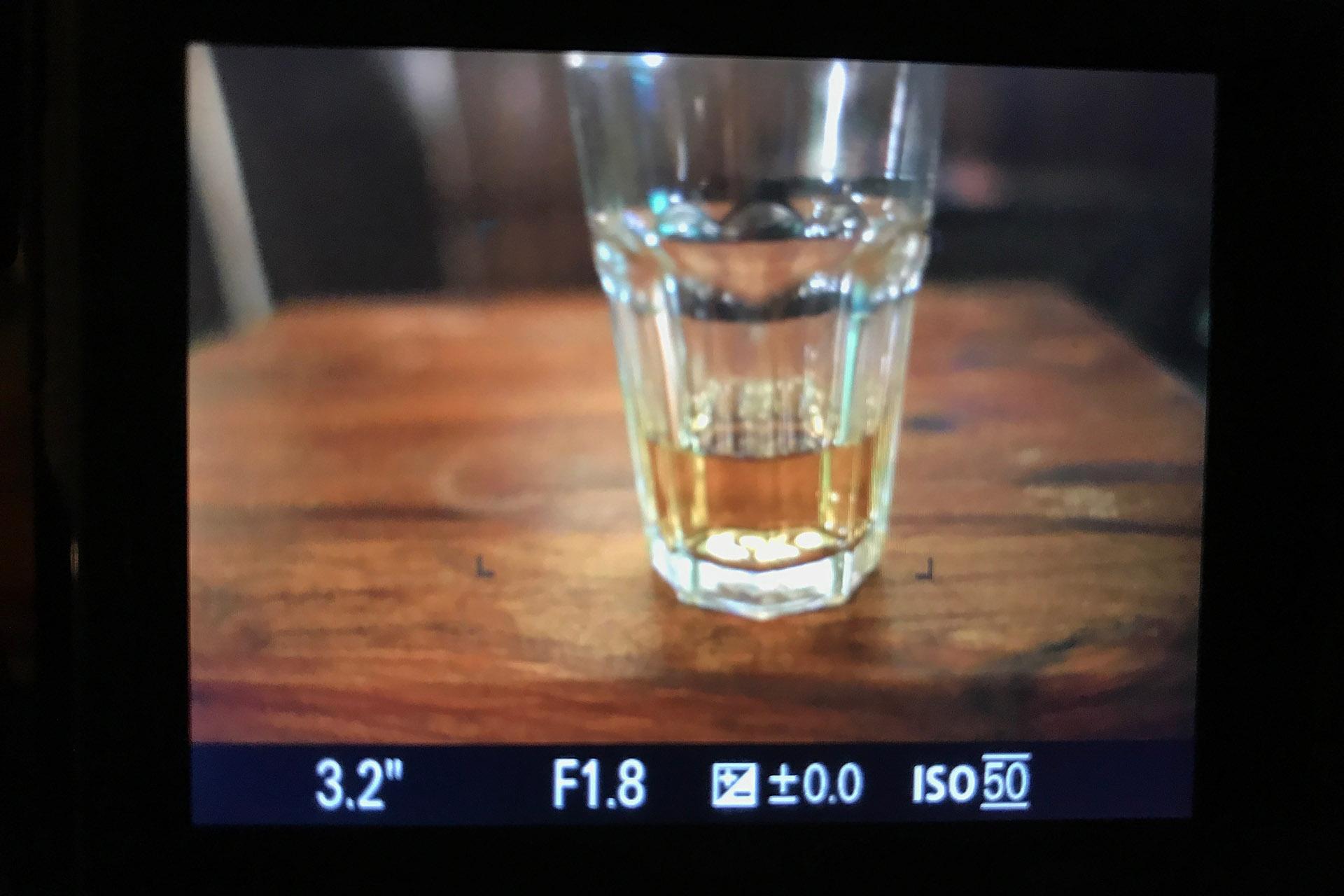 ISO50 シャッタースピード3.2秒