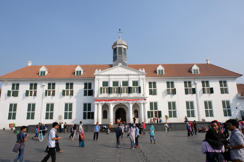 インドネシア ジャカルタ 旧市街 コタ地区 X-Pro2+XF16-55mmF2.8 R LM WR
