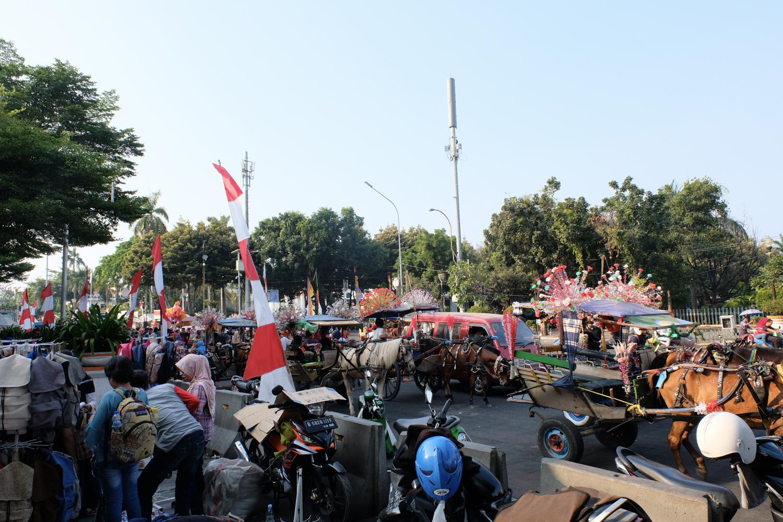 インドネシア ジャカルタ 馬車 X-Pro2+XF16-55mmF2.8 R LM WR