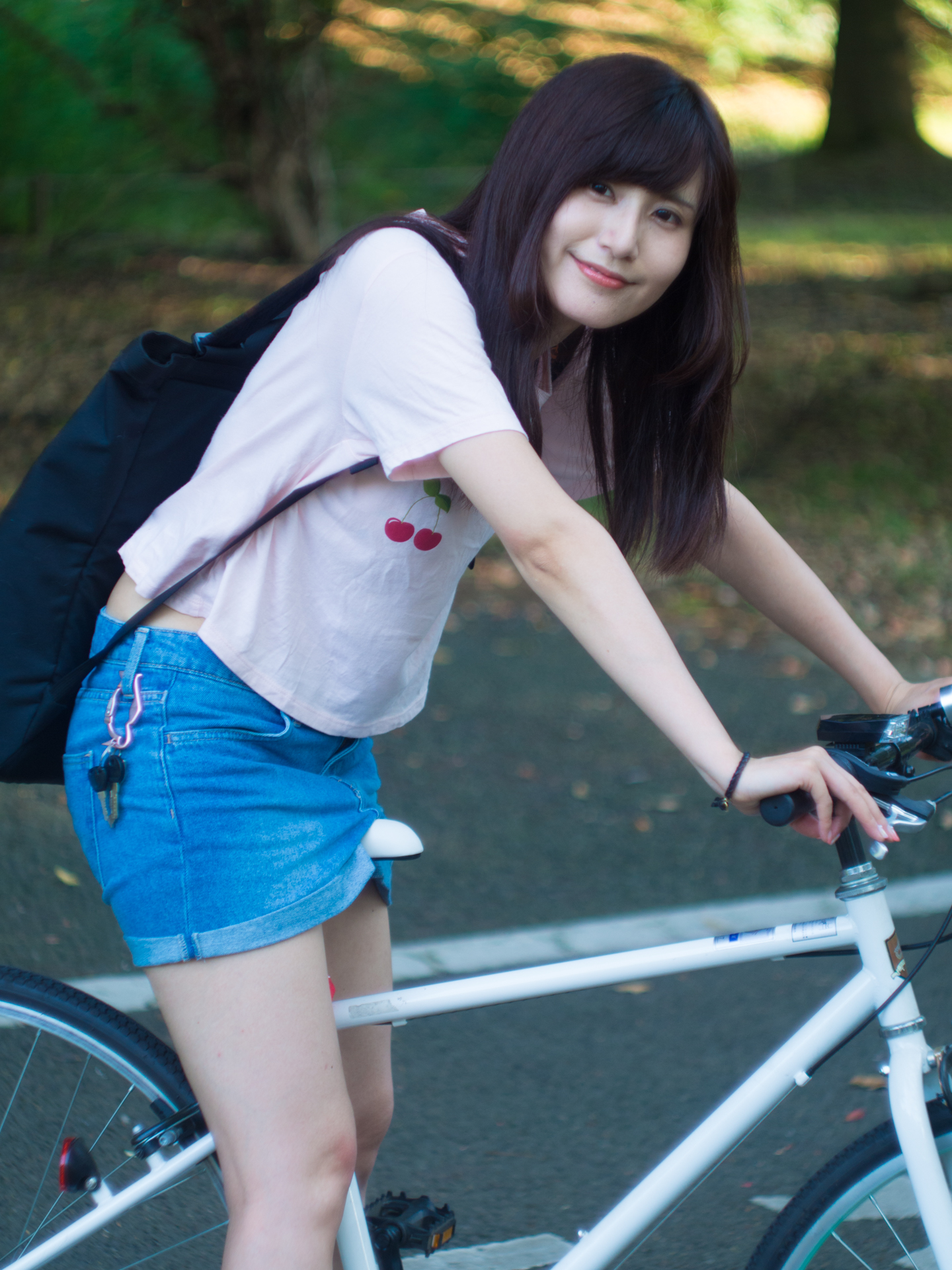 昭和記念公園 自転車 こめくら