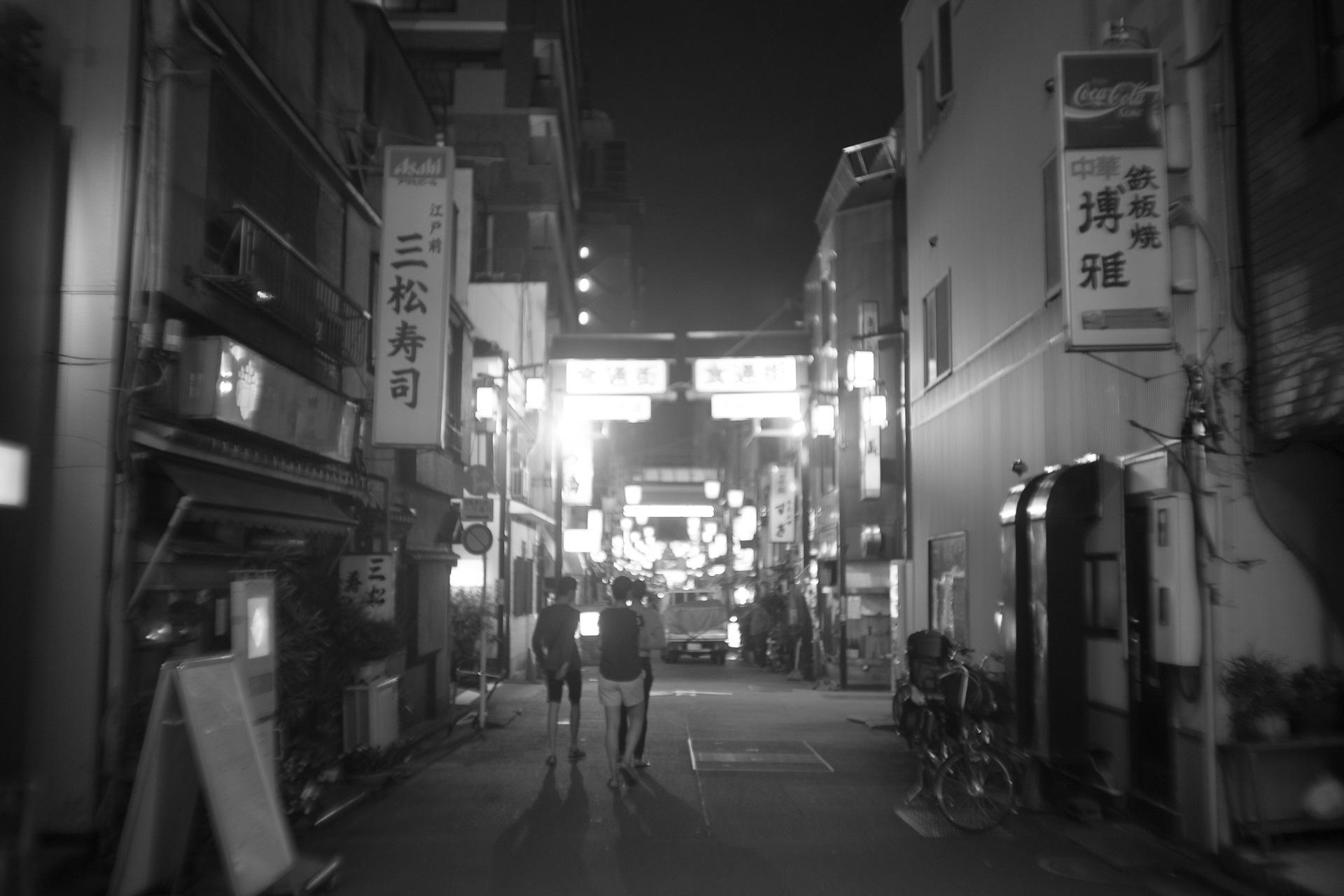 浅草 SONY α7, New Nikkor 35mm F2
