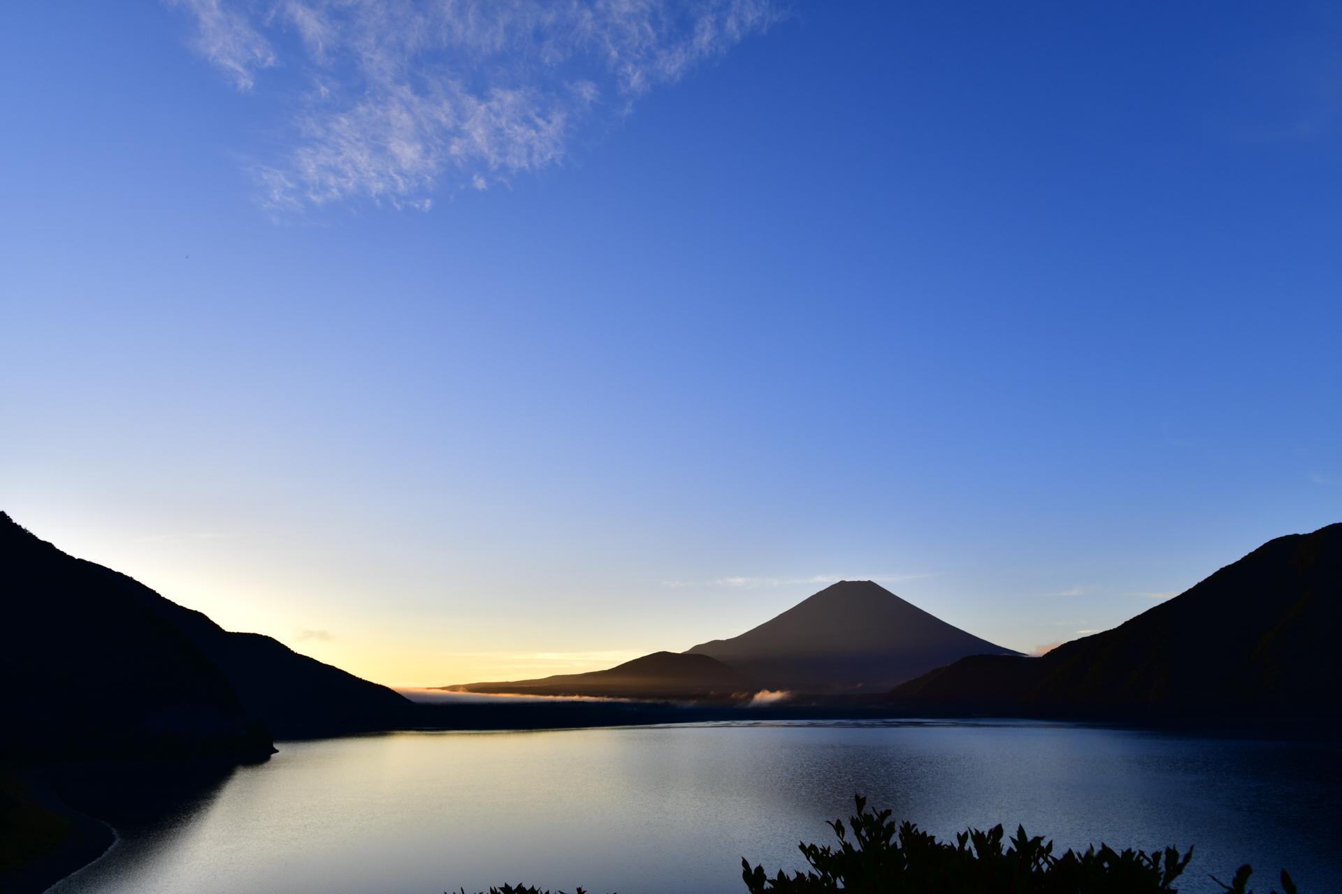 本栖湖 富士山 Nikon D850+AF-S NIKKOR 20mm f/1.8G ED