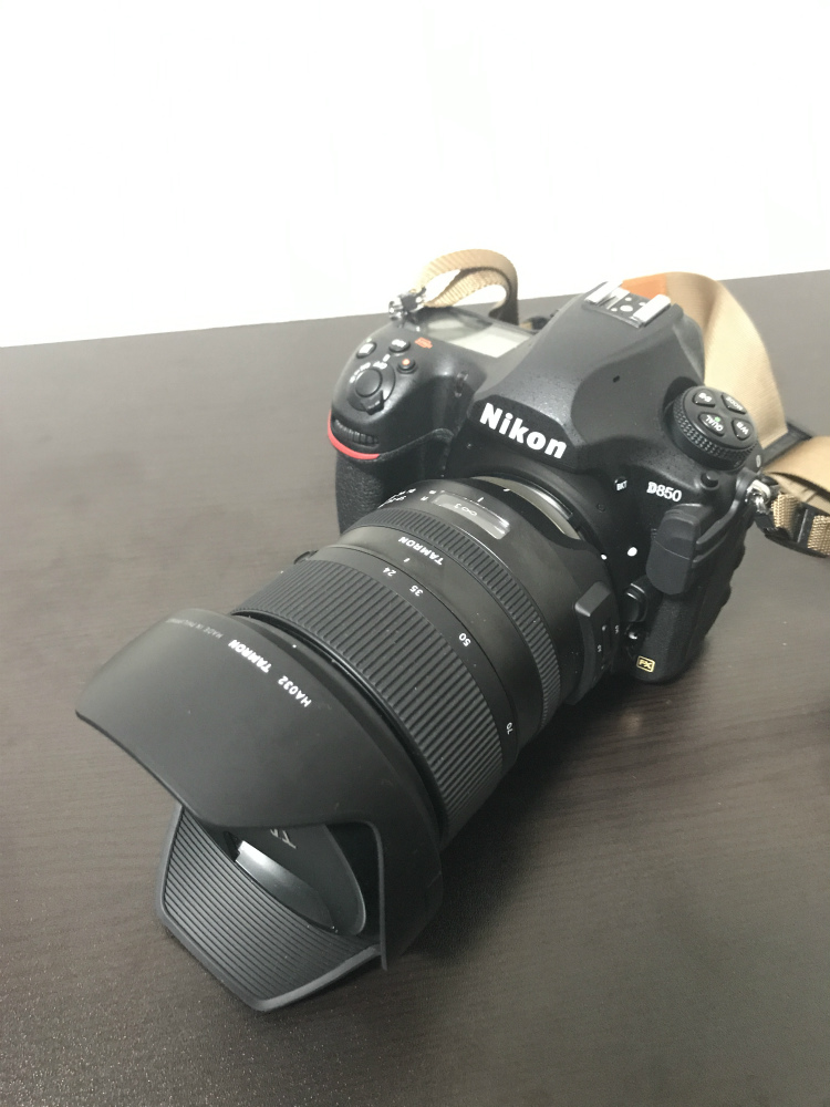 D850+SP 24-70mm F/2.8 Di VC USD G2