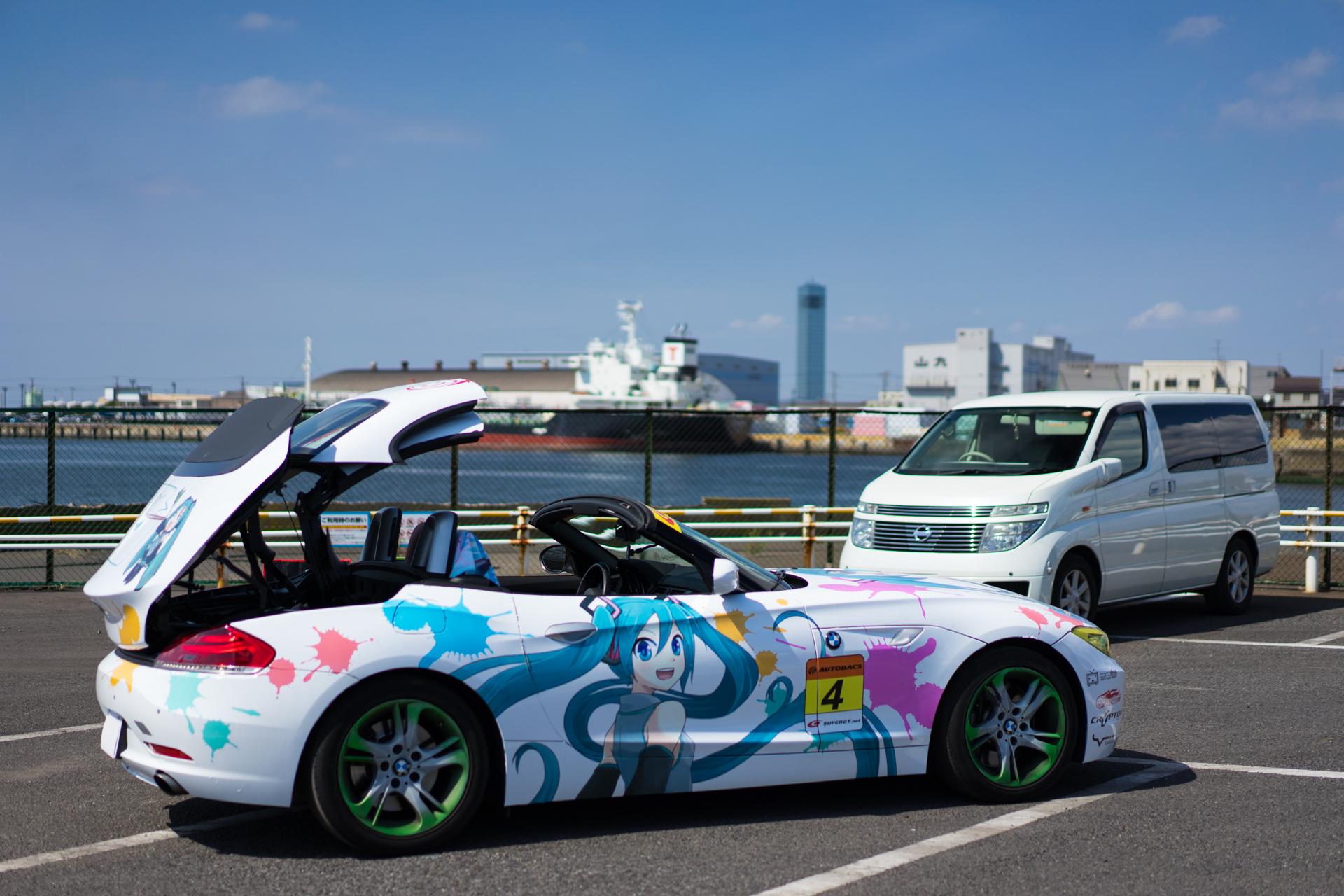 初音ミク BMW 第一回 痛車 Samurai JAPAN SONY α7Ⅱ, Sonnar T* FE 55mm F1.8 ZA SEL55F18Z