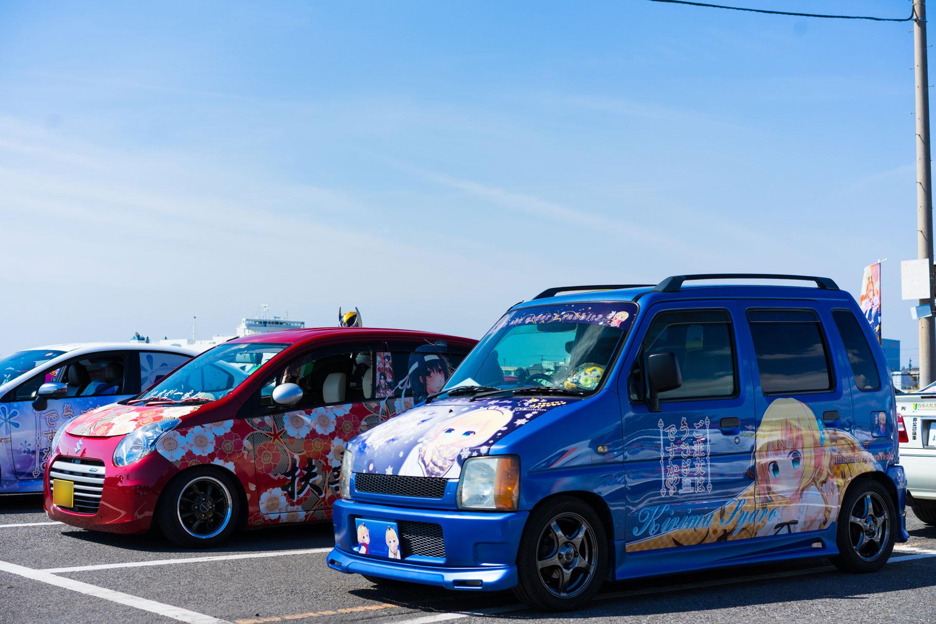 ご注文はうさぎですか? ごちうさ 第一回 痛車 Samurai JAPAN SONY α7Ⅱ, Sonnar T* FE 55mm F1.8 ZA SEL55F18Z