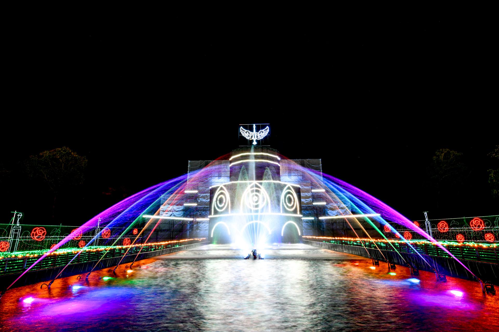 さがみ湖イルミリオン 光の大宮殿