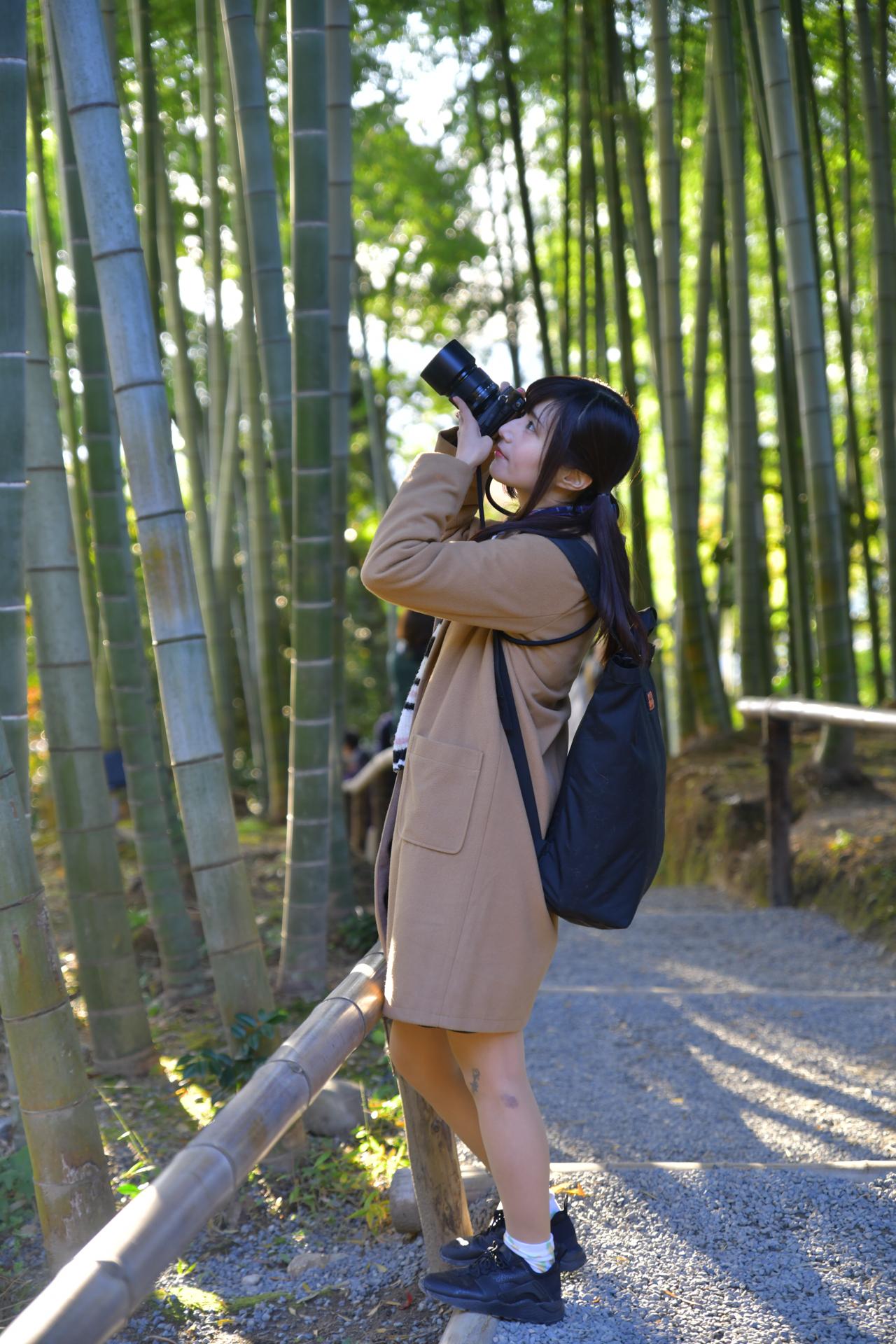 Nikon D850 京都 高台寺 竹林 こめくら
