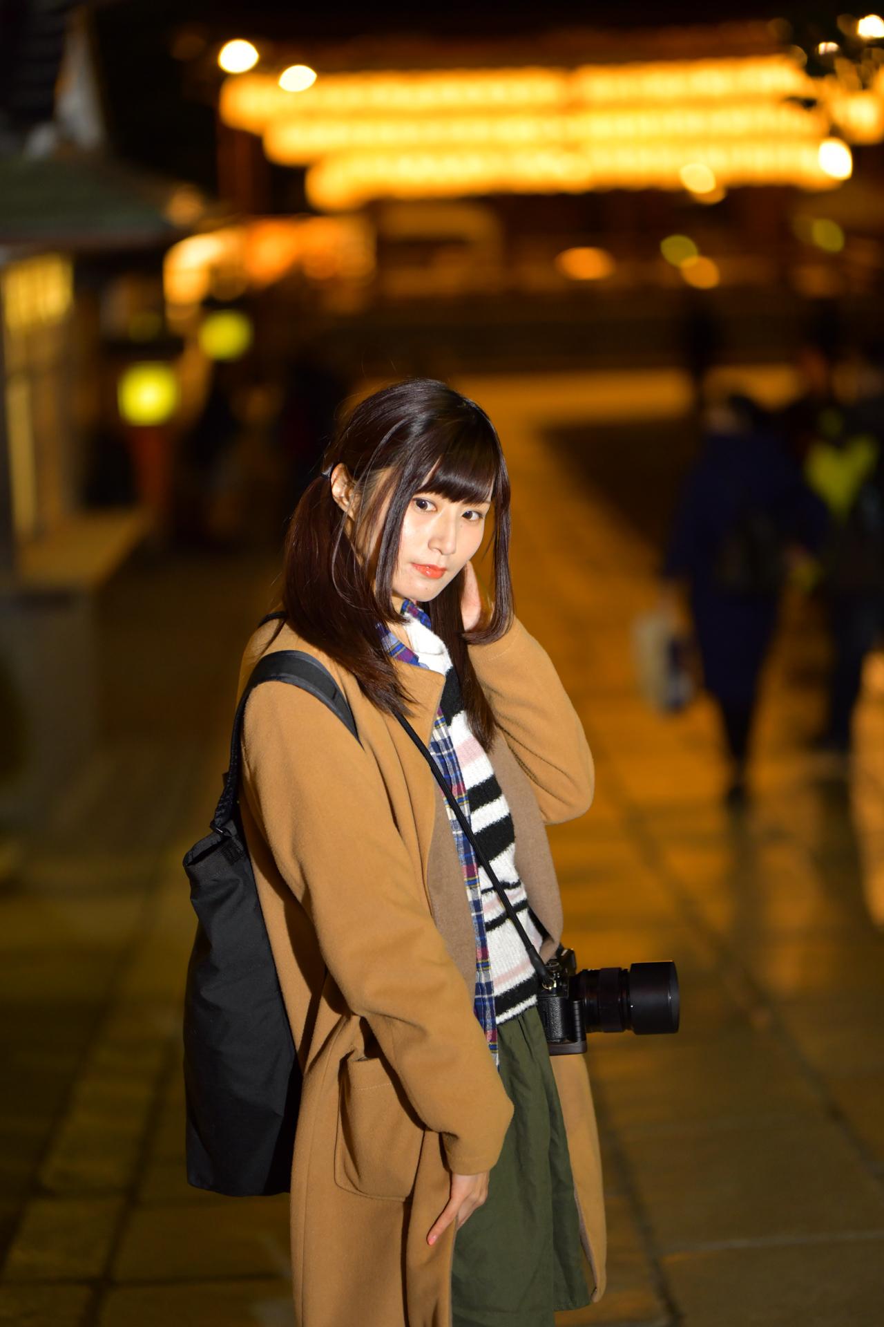Nikon D850 京都 八坂神社 紅葉 こめくら