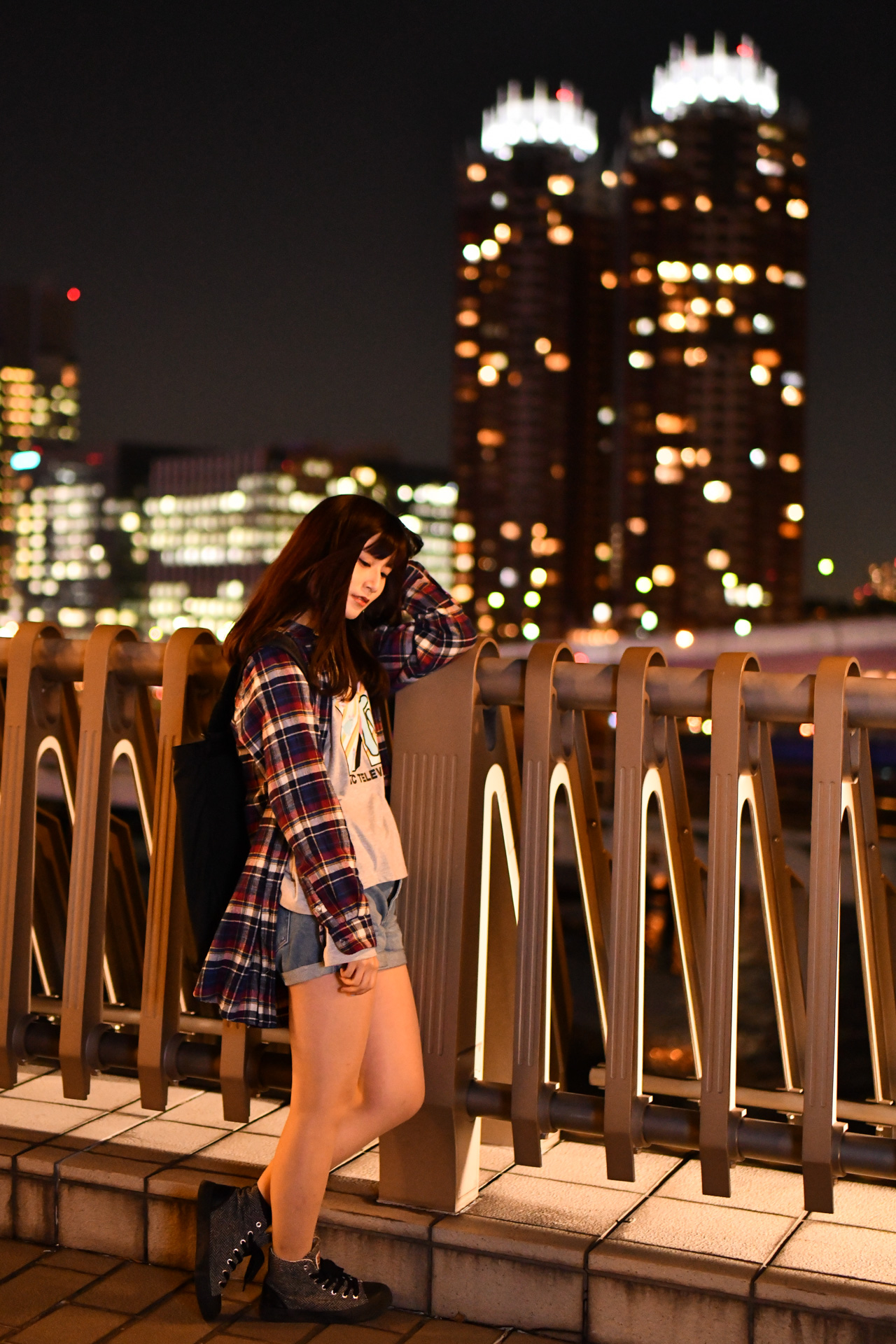 お台場 夢の大橋 こめくら Nikon D850