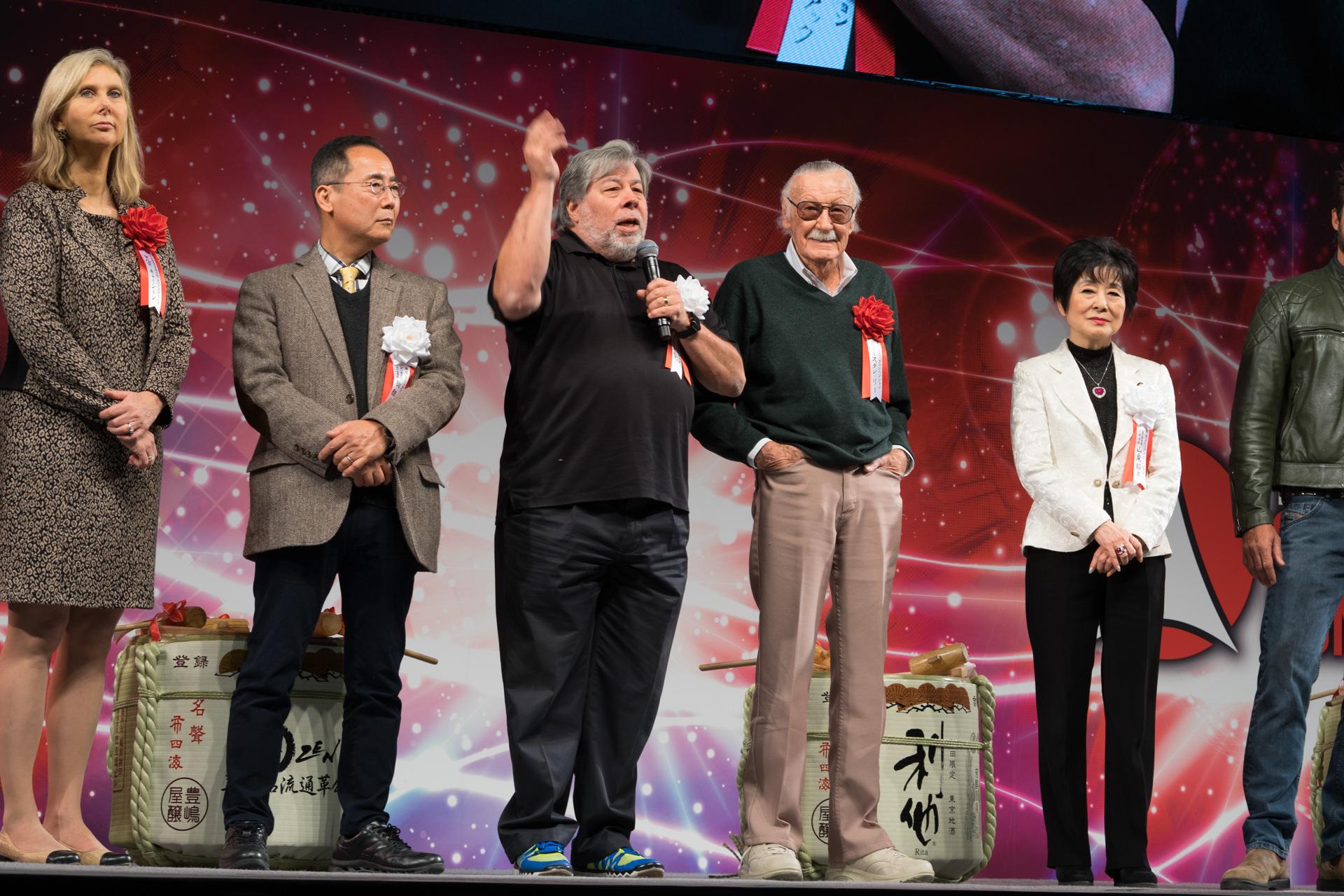 スティーブ・ウォズニアック スタン・リー TOKYO COMIC CON 東京コミコン2017