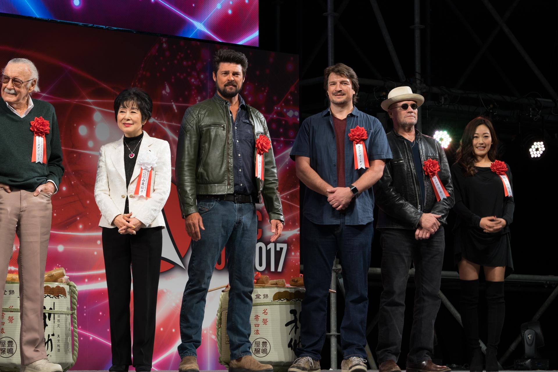 海外ドラマ 映画 俳優 TOKYO COMIC CON 東京コミコン2017