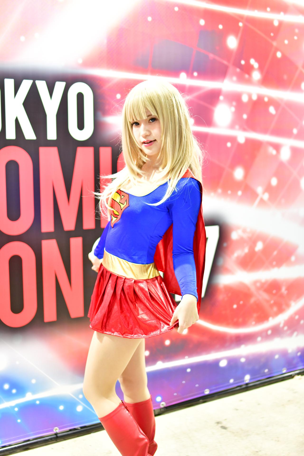 赤木クロ スーパーウーマン 東京コミコン2017 Nikon D850 SP 45mm F/1.8 Di VC USD スピードライトSB-5000
