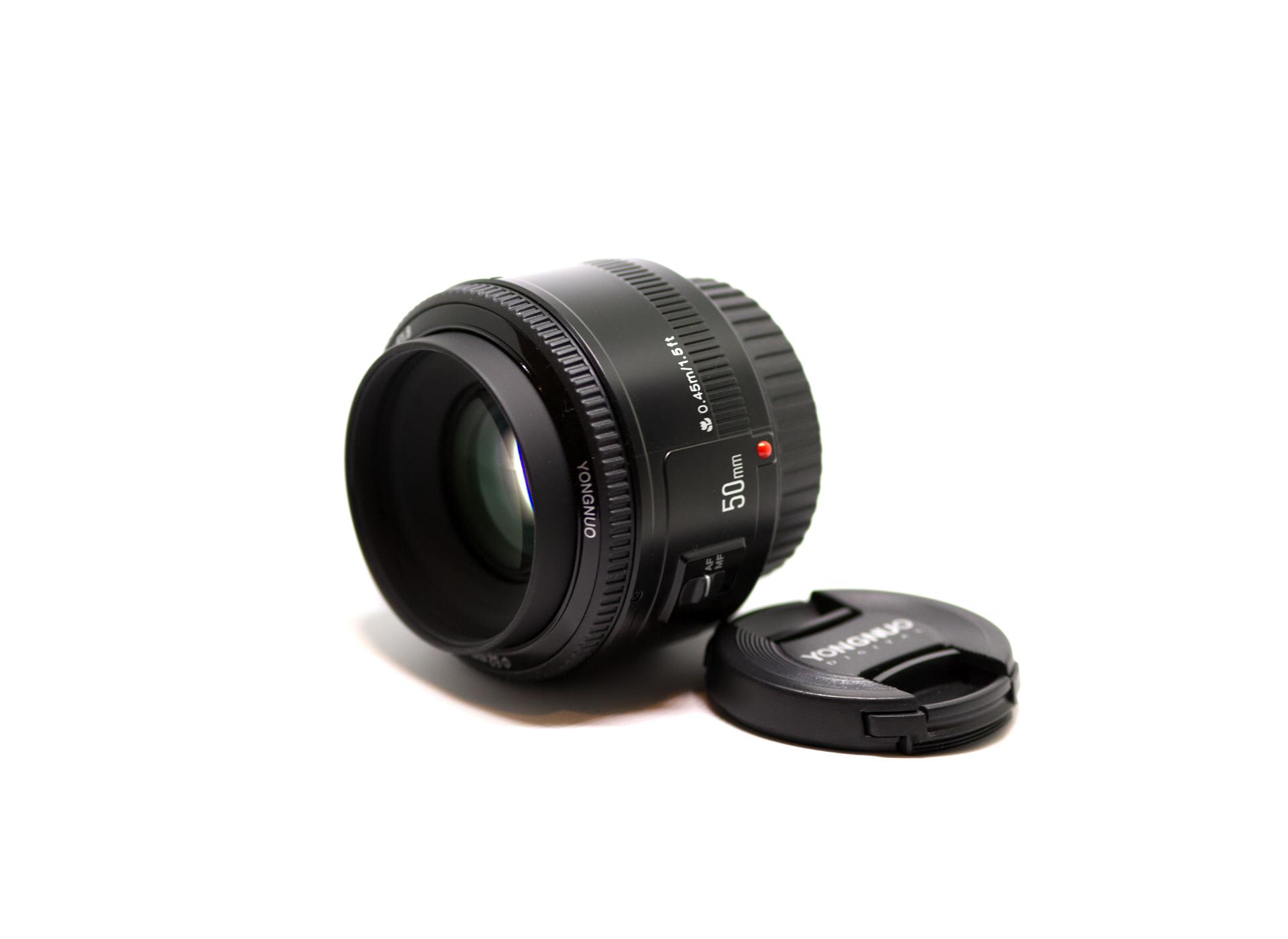 YONGNUO 50mm F1.8 単焦点レンズ キャノン EFマウント