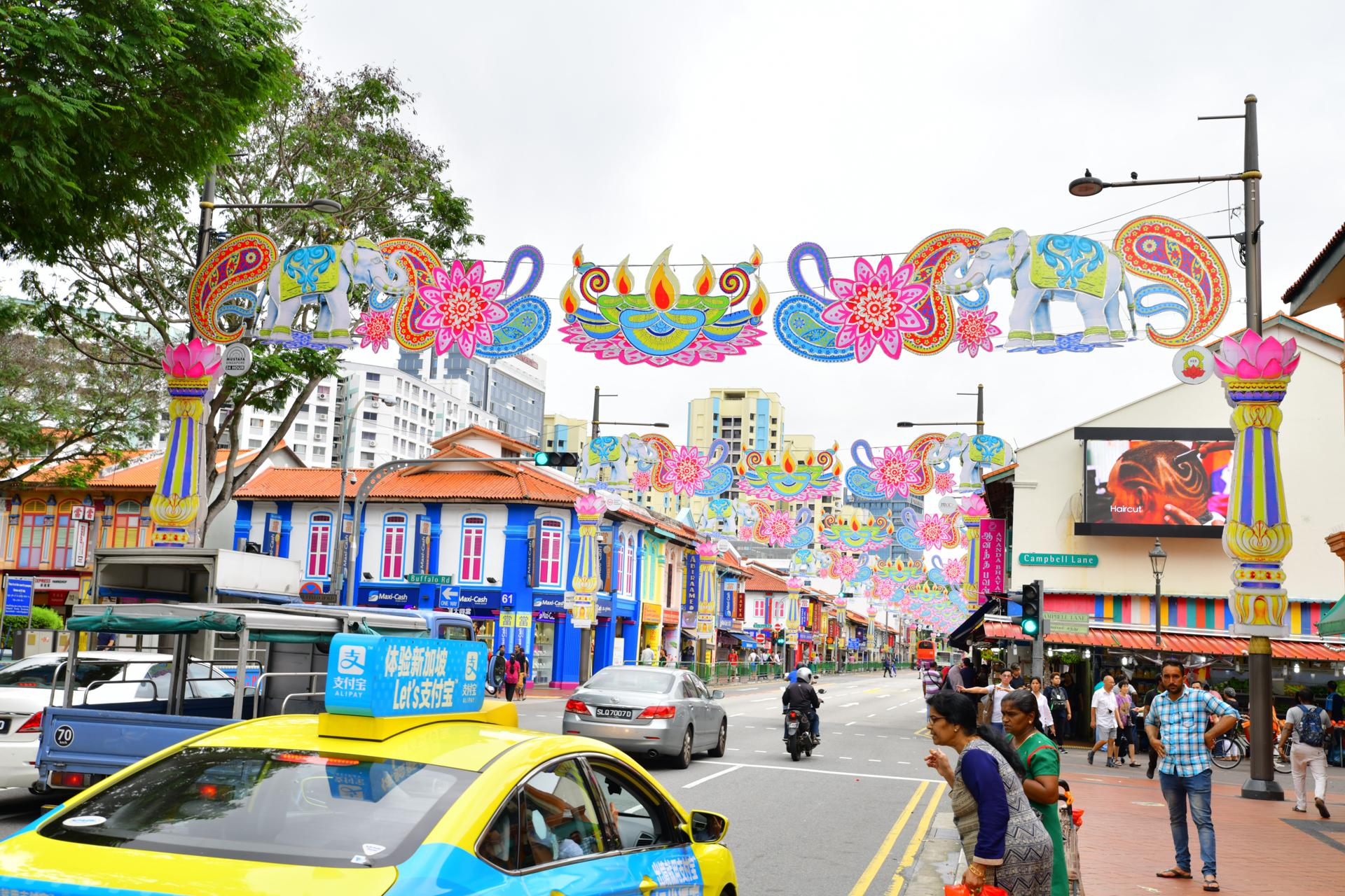 リトル・インディア シンガポール D850+SP 24-70mm F/2.8 Di VC USD G2