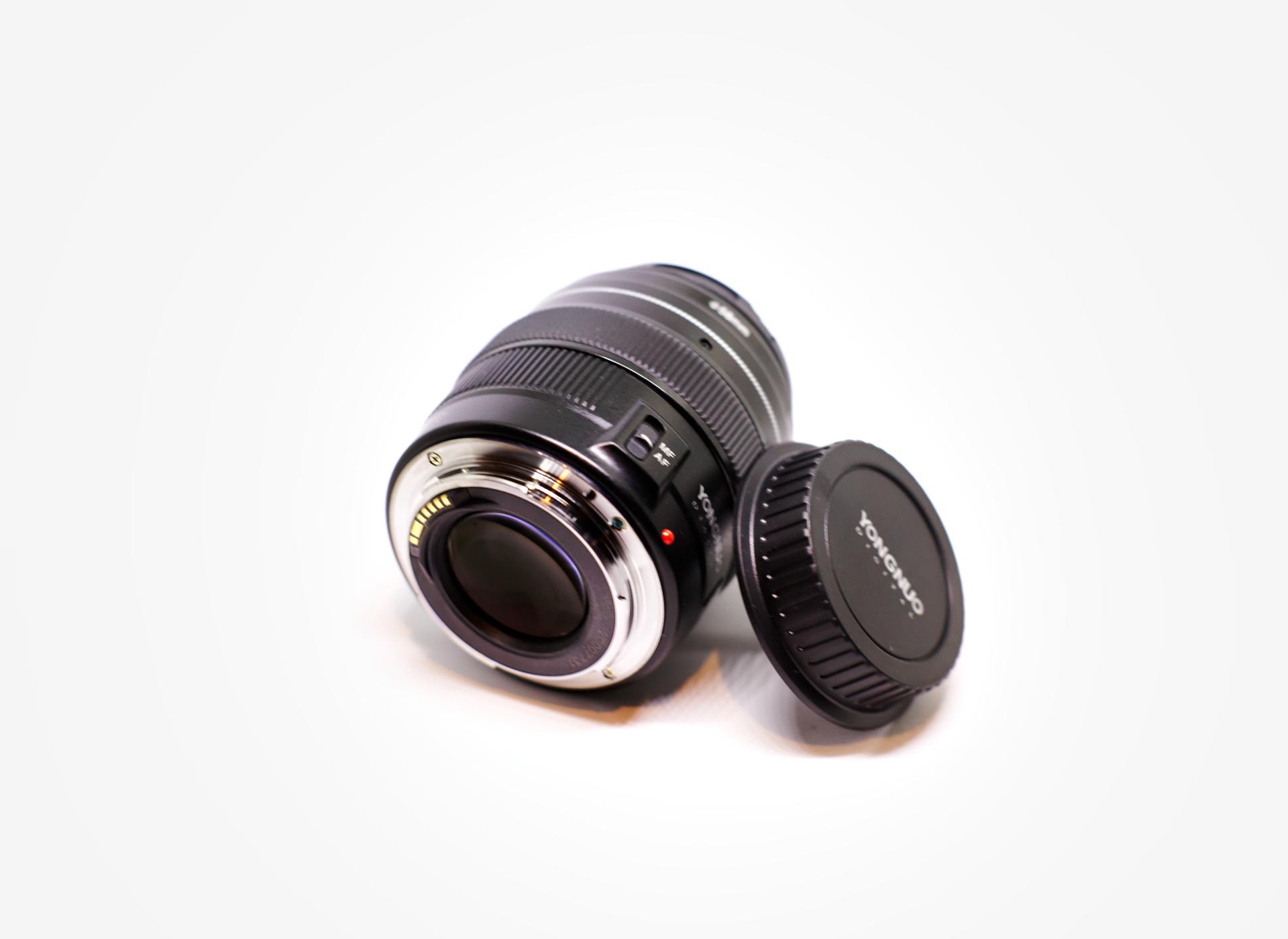 YONGNUO YN100mm F2 単焦点レンズ キャノン EFマウント