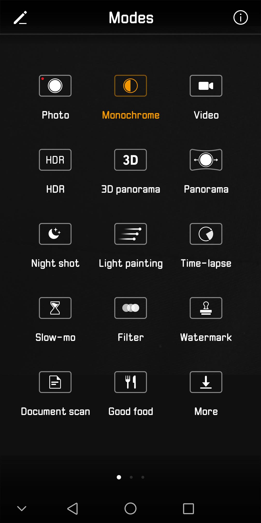 HUAWEI Mate10 Pro モノクロ