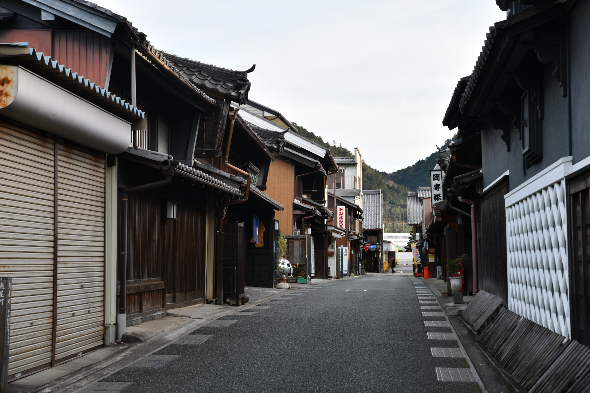 Nikon D850 SP 24-70mm F/2.8 Di VC USD G2 重要伝統的建造物群保存地区 うだつの上がる町並み