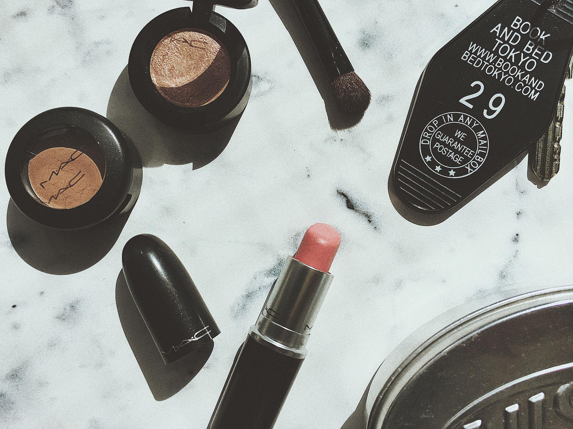 化粧品 VSCO 作例