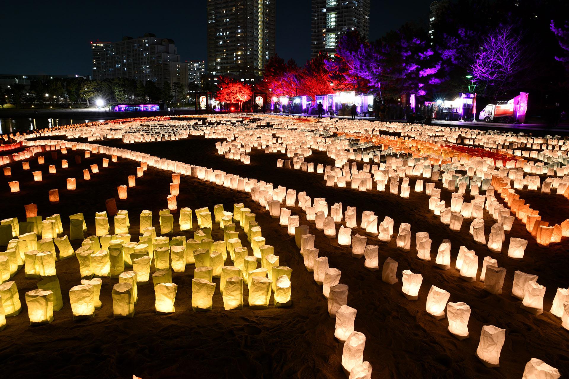 hokusai&TOKYO 水辺を彩る江戸祭 Nikon D850 タムロン 北斎浜辺巨大浮世絵