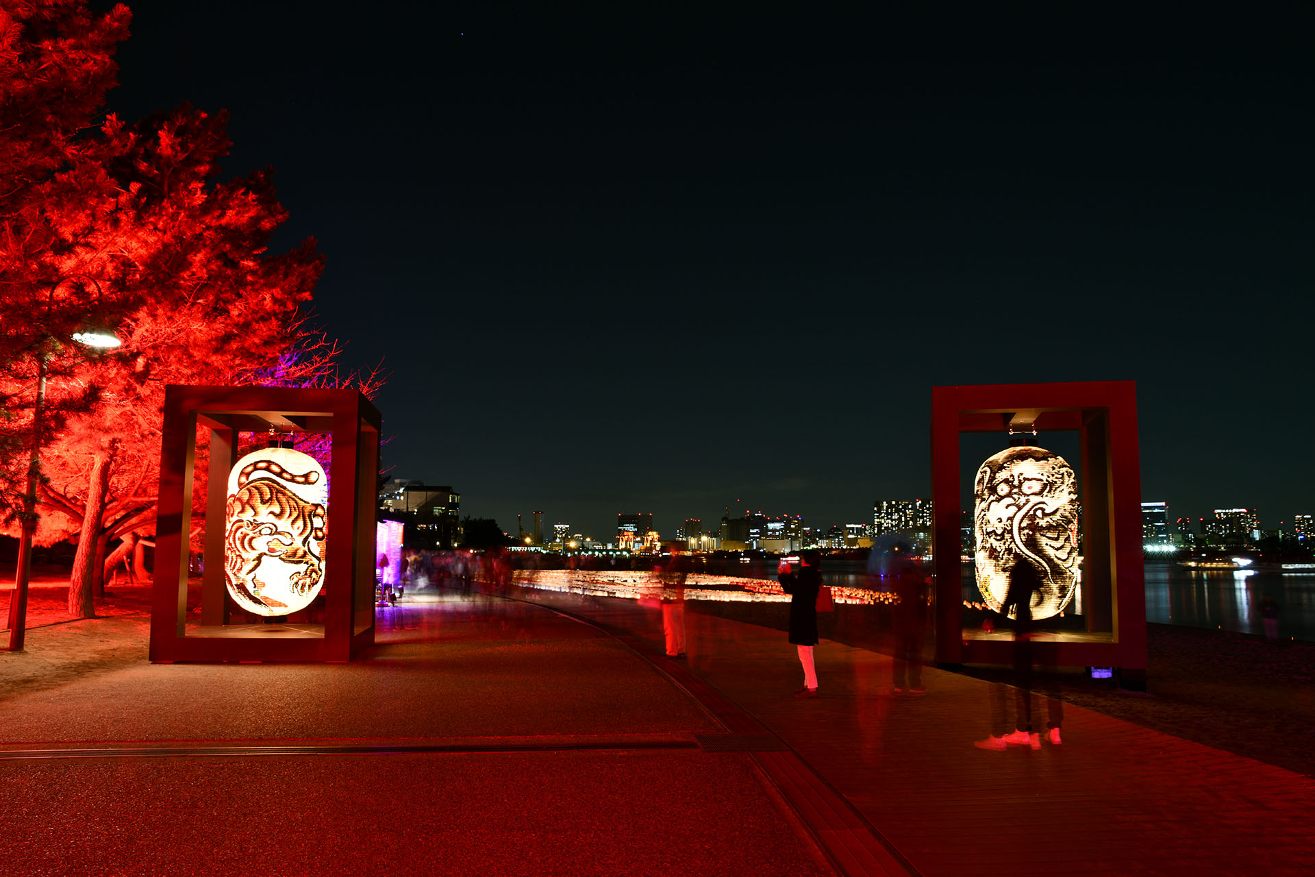 hokusai&TOKYO 水辺を彩る江戸祭 Nikon D850 タムロン 北斎巨大提灯