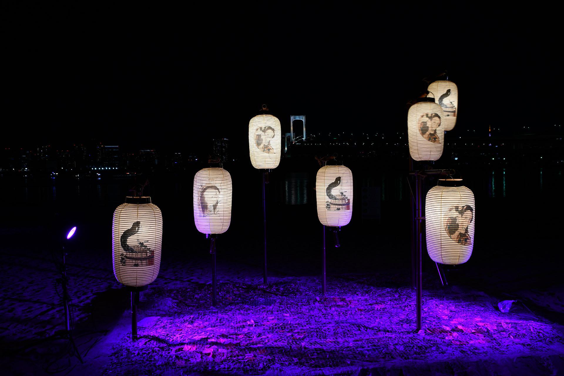 hokusai&TOKYO 水辺を彩る江戸祭 Nikon D850 タムロン 百鬼夜行街道