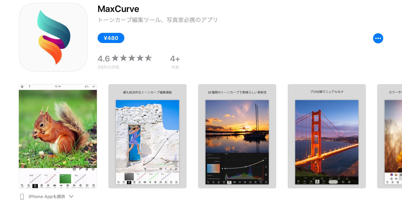 MaxCurve
