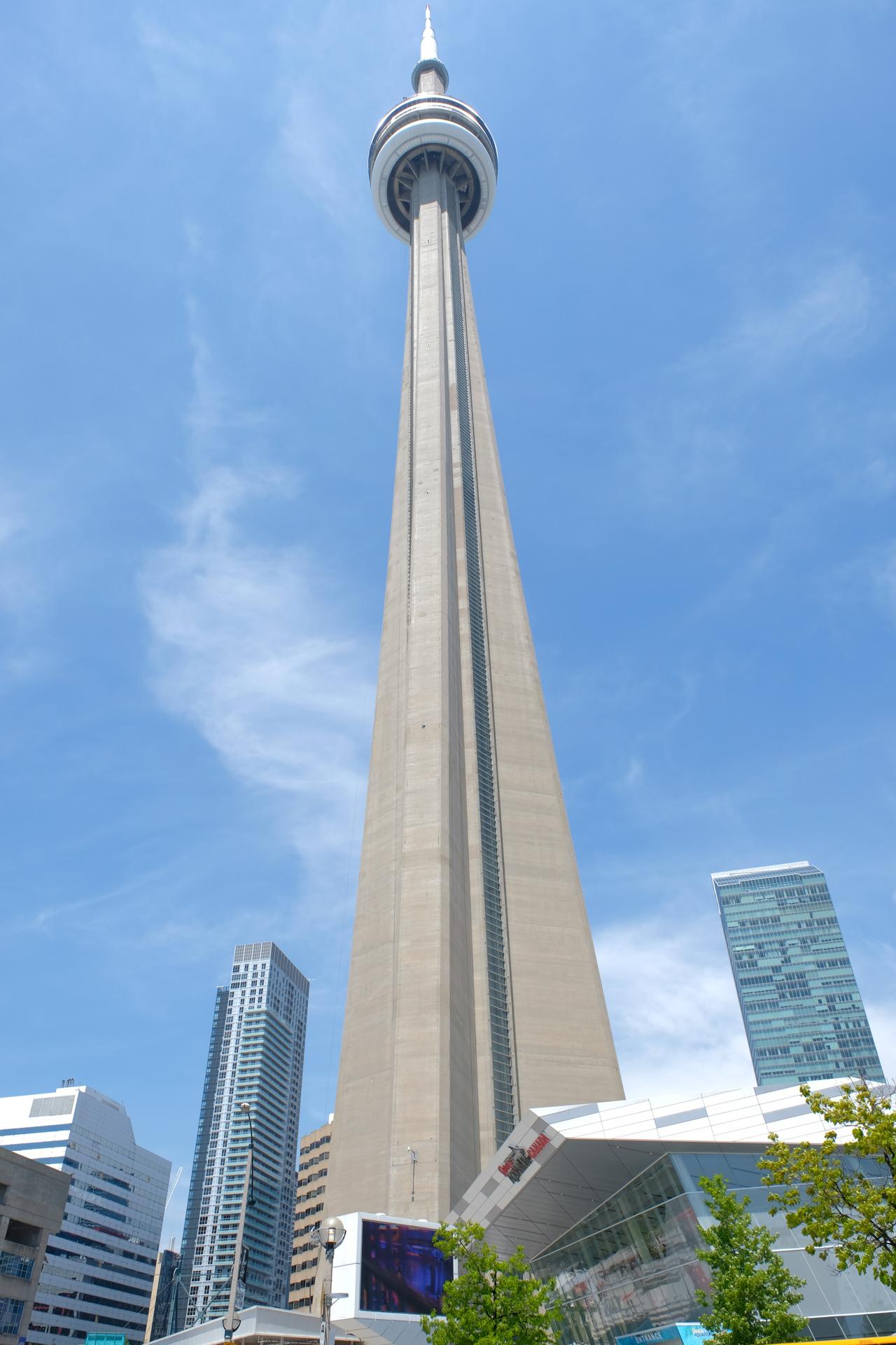 カナダ トロント CNタワー 旅行 富士フイルム X-E3