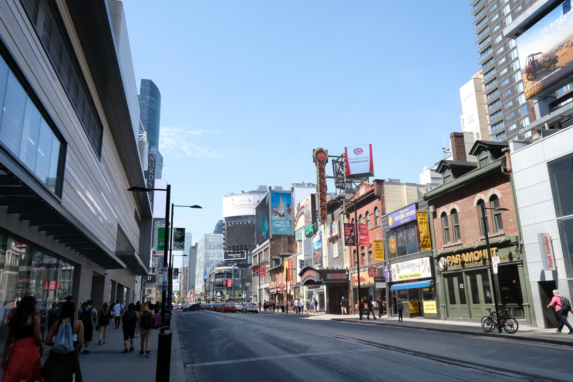 カナダ トロント 旅行 富士フイルム X-E3