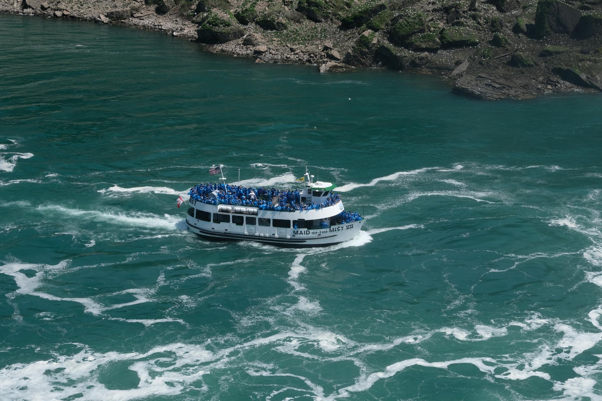 ナイアガラの滝 旅行 富士フイルム X-Pro2