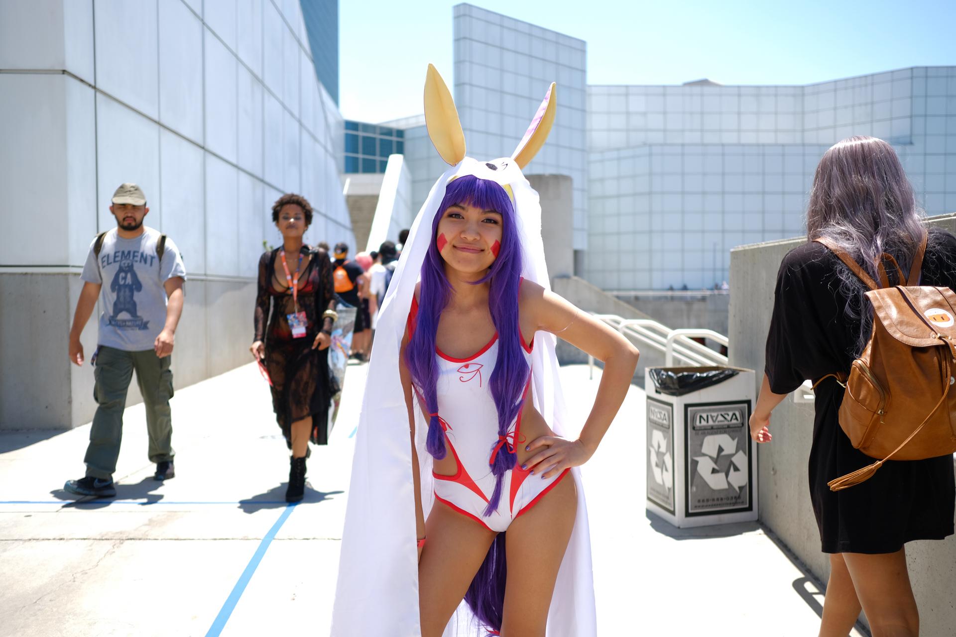 アメリカ ロサンゼルス Anime Expo 2018 コスプレ 撮影