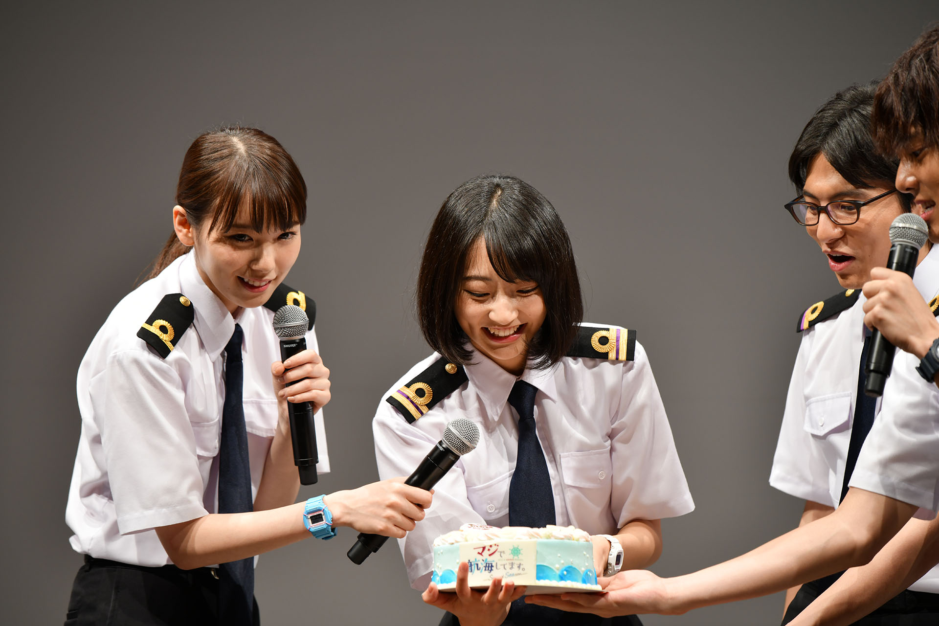 マジで航海してます。〜Second Season〜 武田玲奈 飯豊まりえ