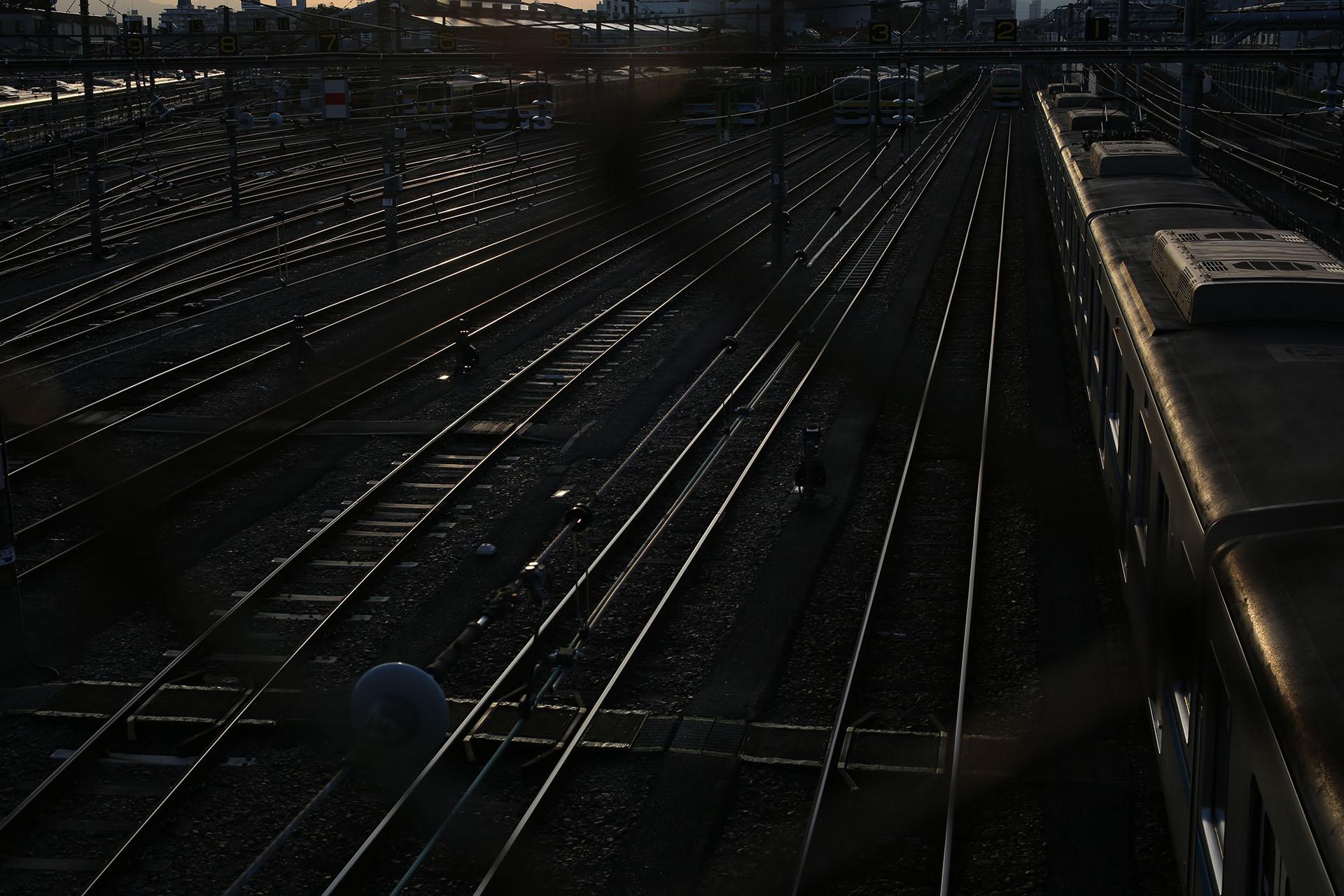 三鷹電車庫跨線橋 Canon EOS 5D MarkIII