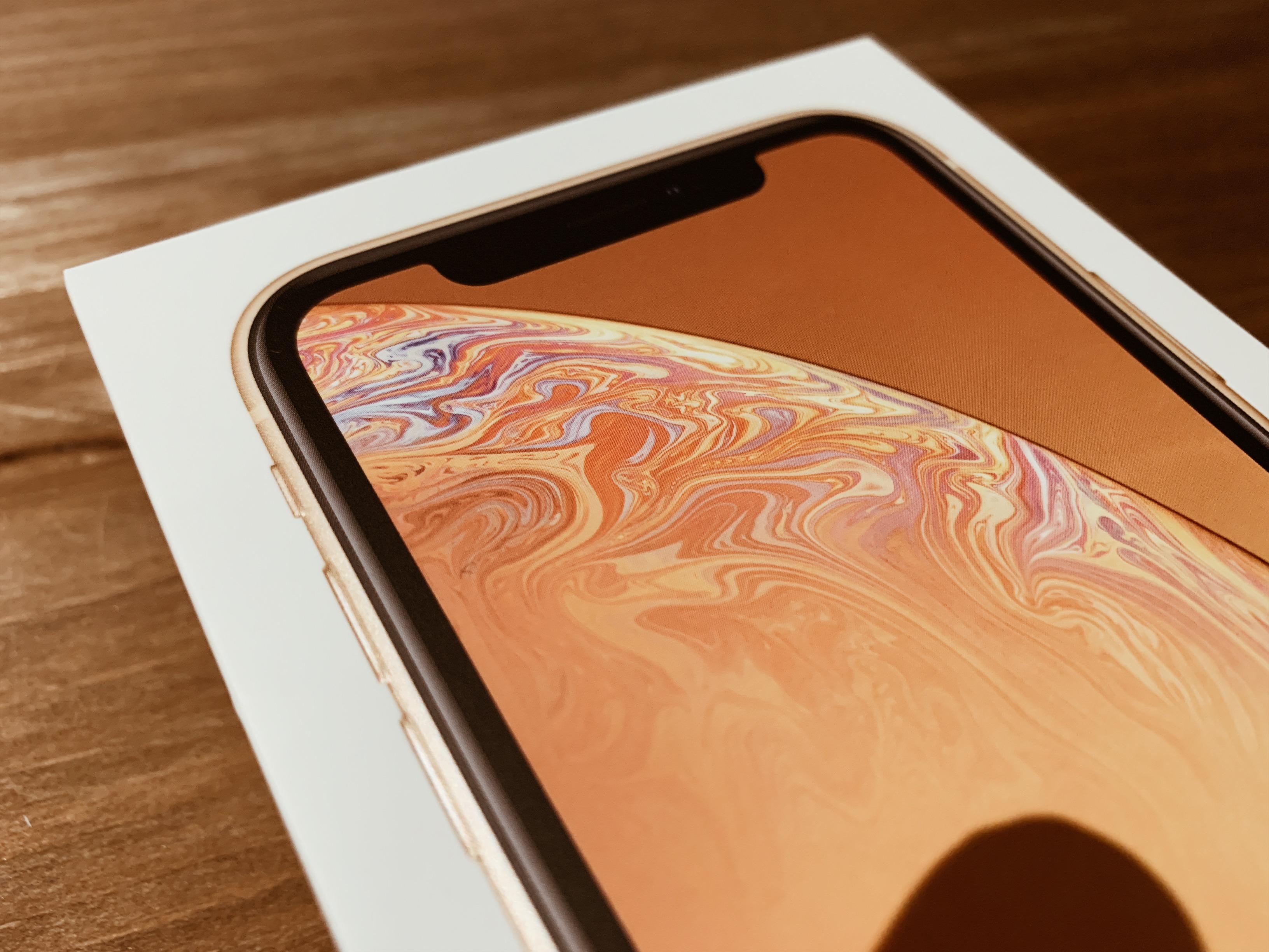 iPhone XR イエロー レビュー