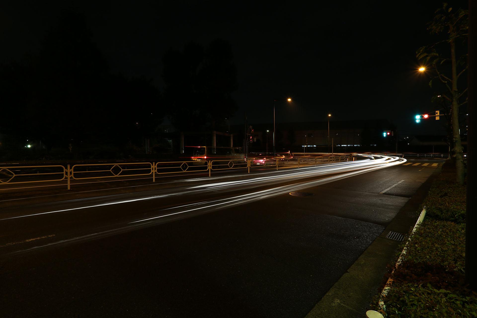 東京都立川市 夜景 Canon EOS 5D MarkIII